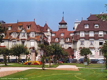 A Norman style construction in Deauville Dauville Hotel Normandie.jpg