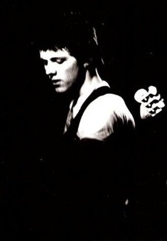 David Cairns (musician) - Cairns in 1978