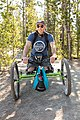 Dave with his bear spray and off-road wheelchair (aff39fc1-069f-41af-8364-04ca0ac2262a).jpg