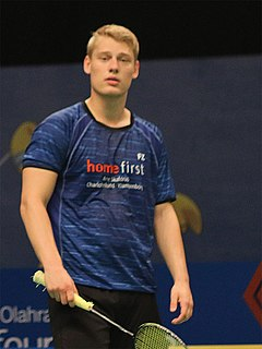 David Daugaard Badminton player