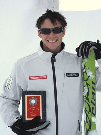Australia at the Winter Olympics - David Morris, Australia's first male aerial freestyle skier at Olympic level.