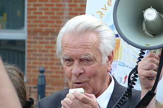 David Owen - David Owen at a march in Limehouse