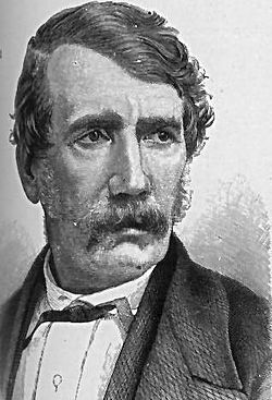 David Livingstone, early explorer of the interior of Africa.