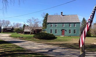 Mount Sinai, New York - The Davis homestead on North Country Road