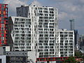 De Calypso - Rotterdam - View of the building as seen from the Groothandelsgebouw in the northwest.jpg