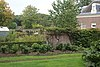 foto van Oostermeer: tuinmuur