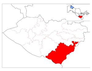 Dehqonobod District location map.png