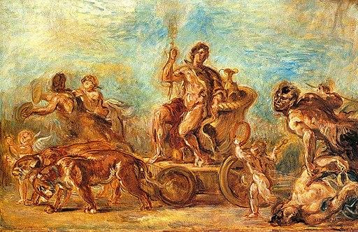 Delacroix - Triumph of Bacchus