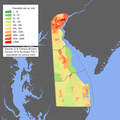 Delaware population map.png