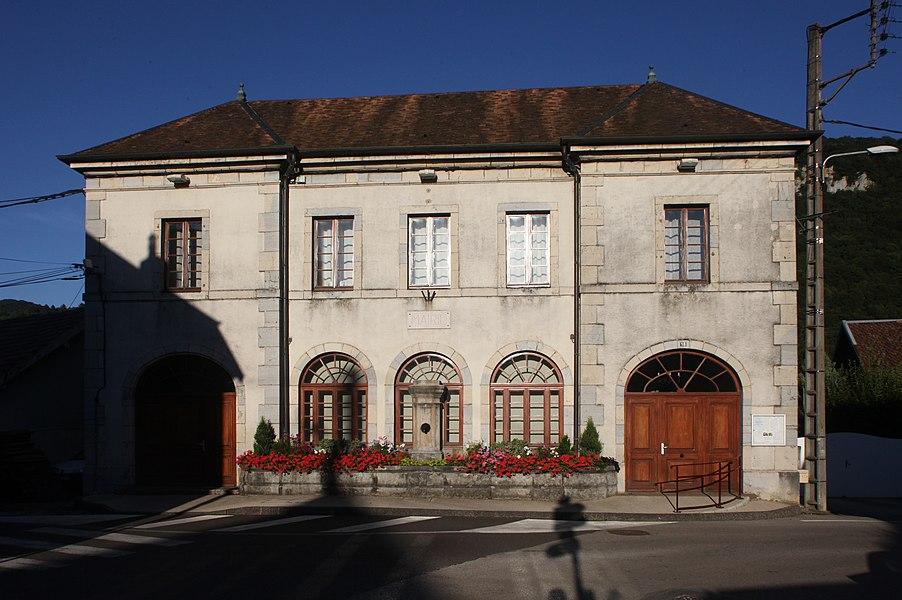 Mairie de Deluz (Doubs).