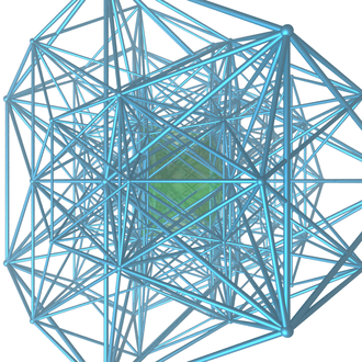 16-cell honeycomb - Image: Demitesseractic tetra hc