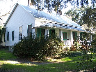 National Register of Historic Places listings in Jefferson County, Florida - Image: Dennis Coxetter House 01