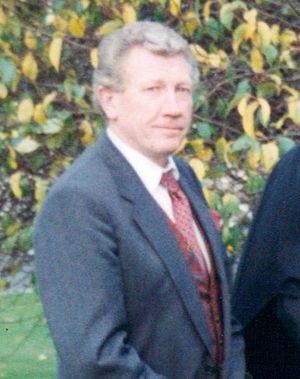 Derrick White (politician) - Derrick White in Trinity College Dublin, 1995
