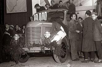 Tovarna avtomobilov Maribor - TAM Pionir (1957)