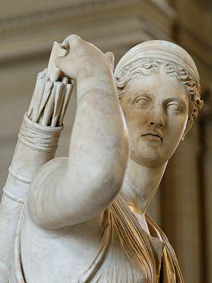 Diana, Louvre