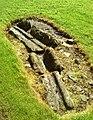 Detail from roman fort of Vindolanda 35.jpg