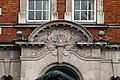 Details of main building of Hammersmith Hospital, London in spring 2013 (3).JPG