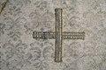 Detalj på grekiskt kors i mitten av patina - Livrustkammaren - 75865.tif