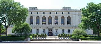 Detroit Public Library - Image: Detroit Library 2010