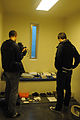 Deutsche Welle reporters tour a cell in Camp 5, Guantanamo, at view the 'comfort items' a compliant captive could be allowed.a.jpg