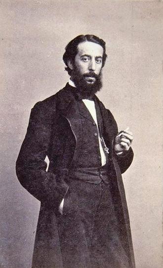 Dióscoro Puebla - Dióscoro Puebla, photograph by Jean Laurent, c.1860