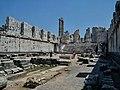Didyma, Turkey, Temple of Apollon, inside temple.jpg