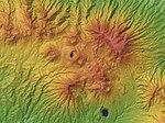 Dieng plateau Relief Map, SRTM-1.jpg