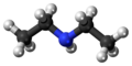 Diethylamine 3D ball.png