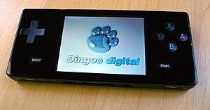 Dingoo - A black Dingoo.