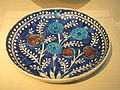 Dish, Turkey, 1530s, stonepaste painted under glaze - Freer Gallery of Art - DSC05430.JPG