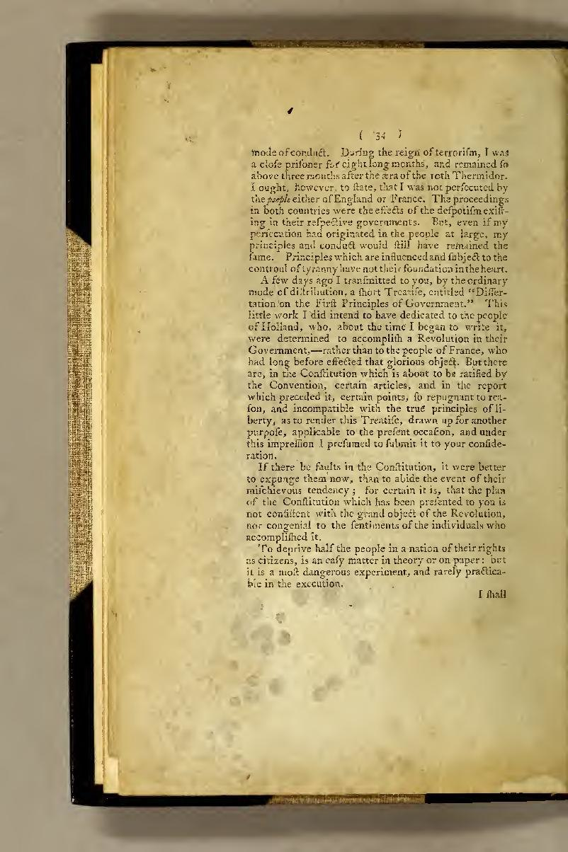Founding Fathers Document Library - Dissertation on first-principles of government
