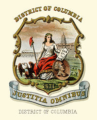 District of Columbia coat of arms