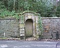 Disused entrance, Llanrwst Road, Colwyn Bay - geograph.org.uk - 1759264.jpg