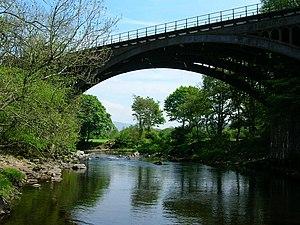 Ingleton branch line - Rawthey Bridge near Sedbergh