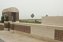 Divisional Collecting Post Cemetery & Extension.JPG