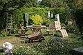 Domestic effects in a garden in Soberton - geograph.org.uk - 237737.jpg