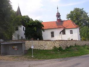 Domoušice - Image: Domousice CZ St Martin Church 008