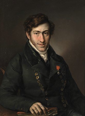 Infante Francisco de Paula, Duke of Cádiz - Portrait by Vicente Lopez y Portaña