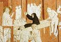 Donatello, storie di san giovanni evangelista, resurrezione di drusiana, 1434-43 dettaglio2.jpg