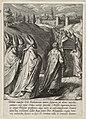 Doodskist van Thomas van Aquino wordt naar de Dominicaanse kerk van Toulouse gebracht. NL-HlmNHA 1477 53009492.JPG