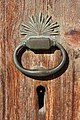 Door knocker, Mustafapaşa.jpg