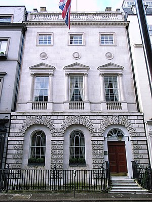 Dover Street - Example of Georgian architecture in Dover Street