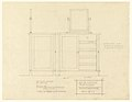 Drawing, Dresser for Mr. Allen, Henry J. Allen Residence, Wichita, Kansas, 1917 (CH 18800293).jpg