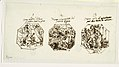 Drawing, Three Sketches of Theseus Subjects, for the Sala di Teseo, Palazzo Gaddi, Forli, 1819 (CH 18118143).jpg