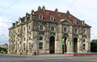 Sächsische Akademie der Künste - The Sächsische Akademie der Künste headquarters