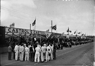 1933 24 Hours of Le Mans - Drivers before the start