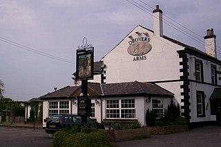 Allostock village in the United Kingdom