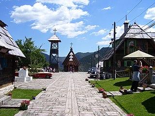 Village in Zlatibor District, Serbia