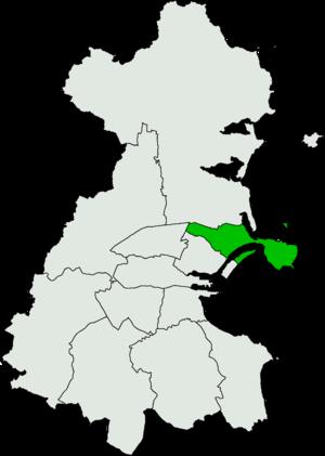 Dublin North-East (Dáil Éireann constituency) - Image: Dublin North East Dáil Éireann constituency