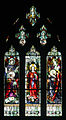 Dublin Saint Saviour's Dominican Priory Church Outer South Aisle Window Adoration of Jesus 2012 09 26.jpg